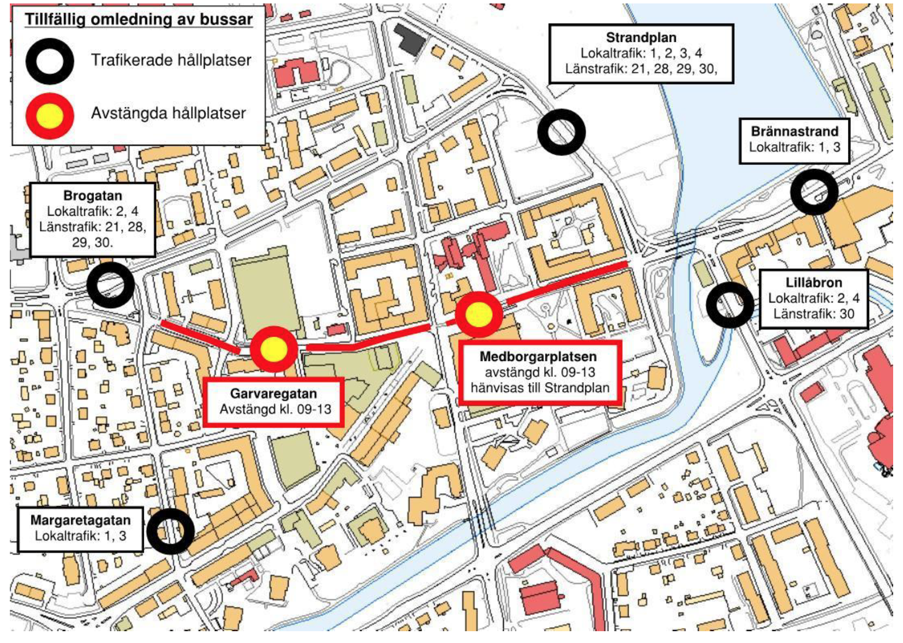 Karta Medborgarplatsen